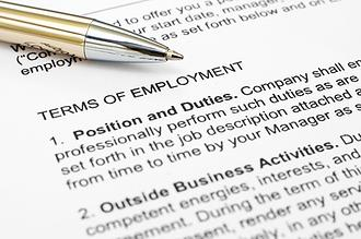 Terms of Employment Contract