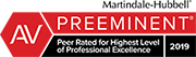 Richard Williamson of Ezer Williamson Law recognized as AV Preeminent Peer Rated for Highest Level of Professional Excellence